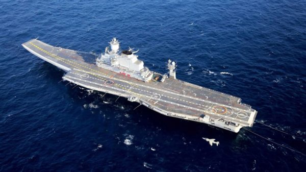 India's New Aircraft Carrier