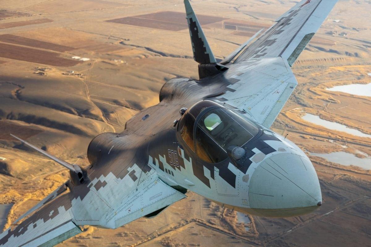 Su-57 Stealth Fighter