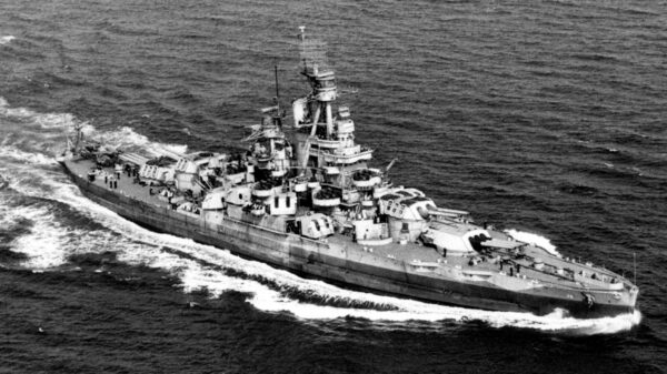 Battleship USS Nevada