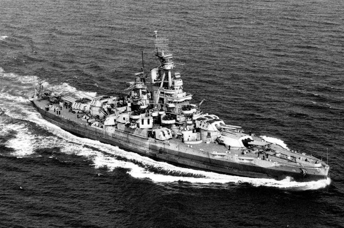 Battleship USS Nevada