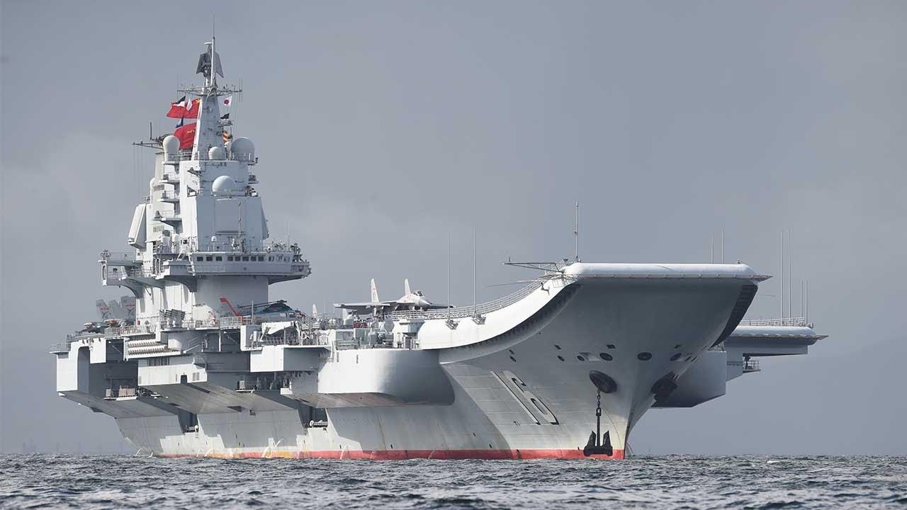 China Aircraft Carrier Battlegroup