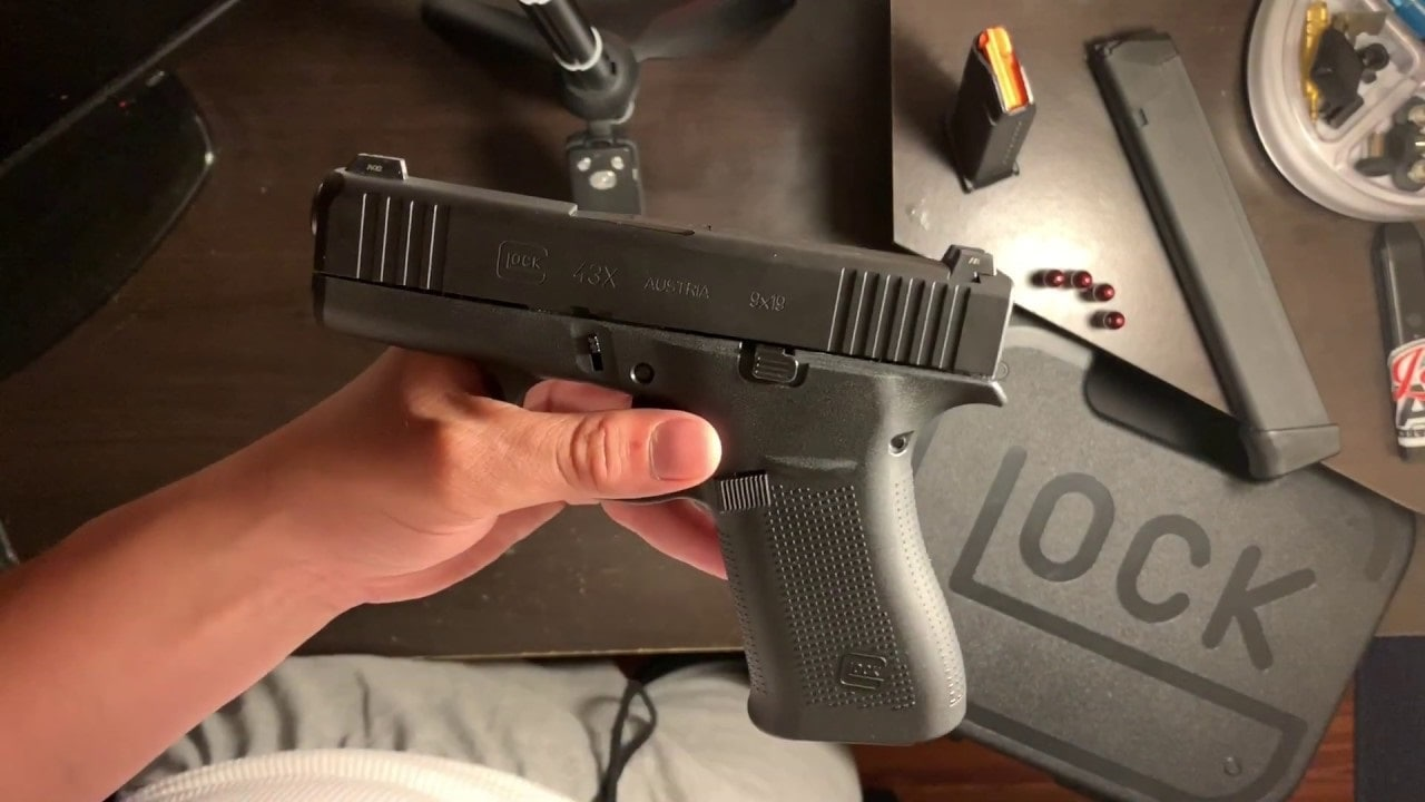 Glock G43X Black