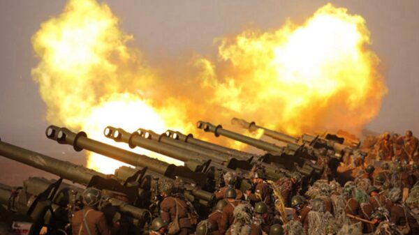 North Korea Artillery