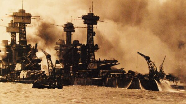 Battleship USS West Virginia