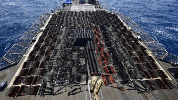 USS Monterey Weapons
