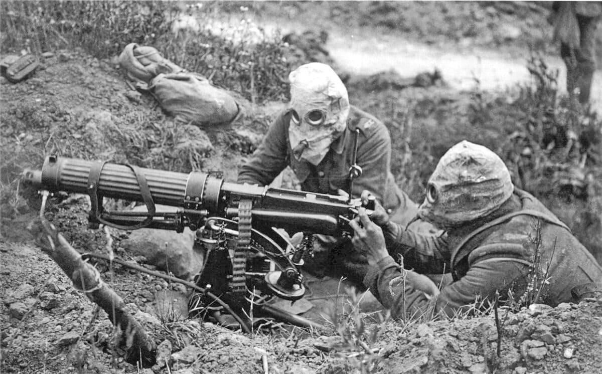 World War I Machine Guns