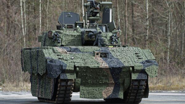 British Ajax Armored Vehicle
