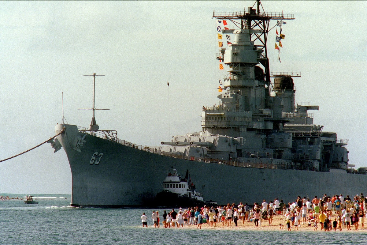 Korean War Battleships
