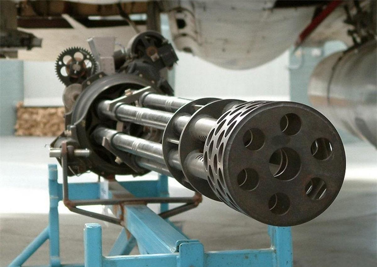 M61A2 Vulcan Cannon