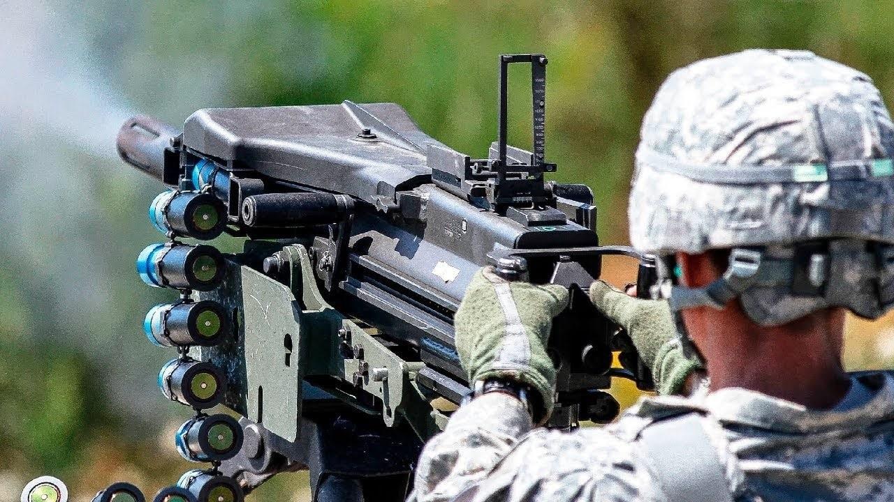 MK 19 Grenade Launcher