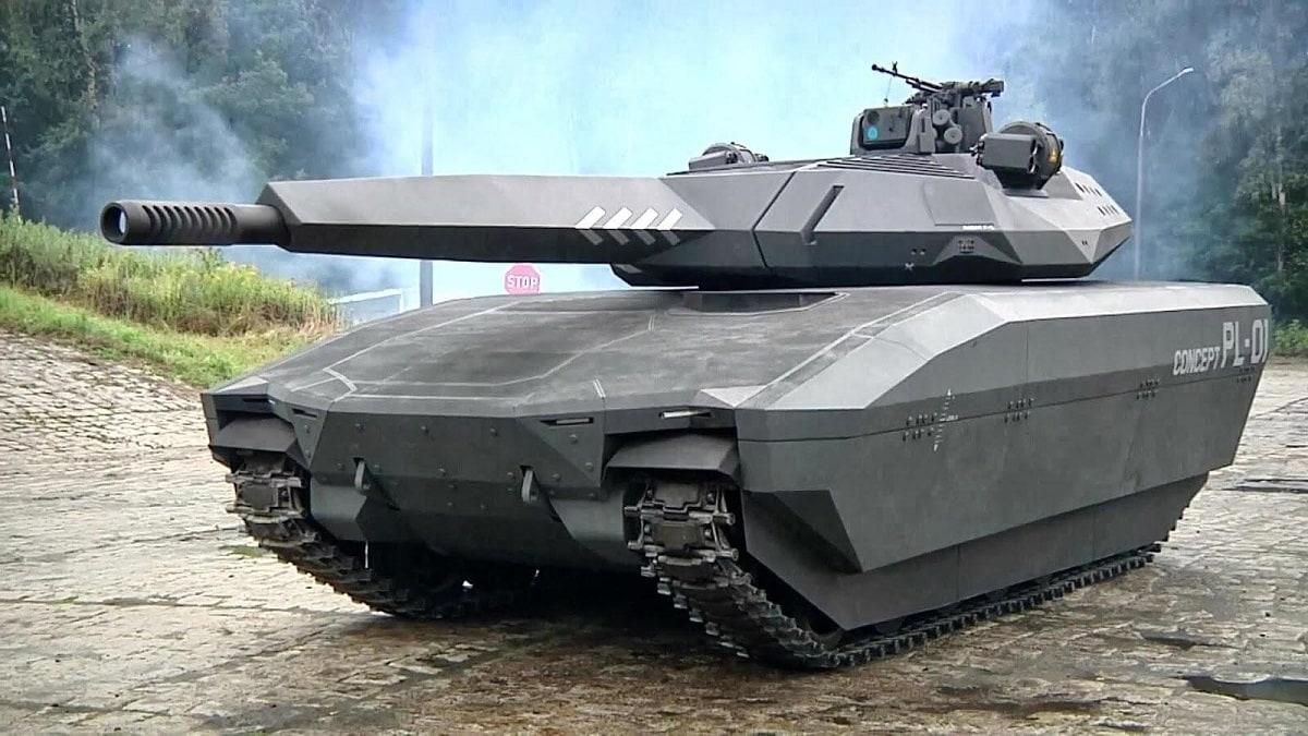 PL-01 concept tank
