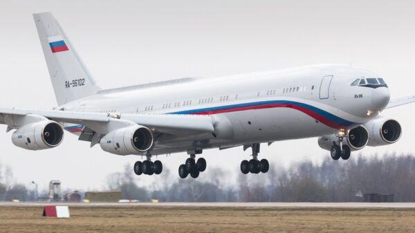 Russia Doomsday Plane
