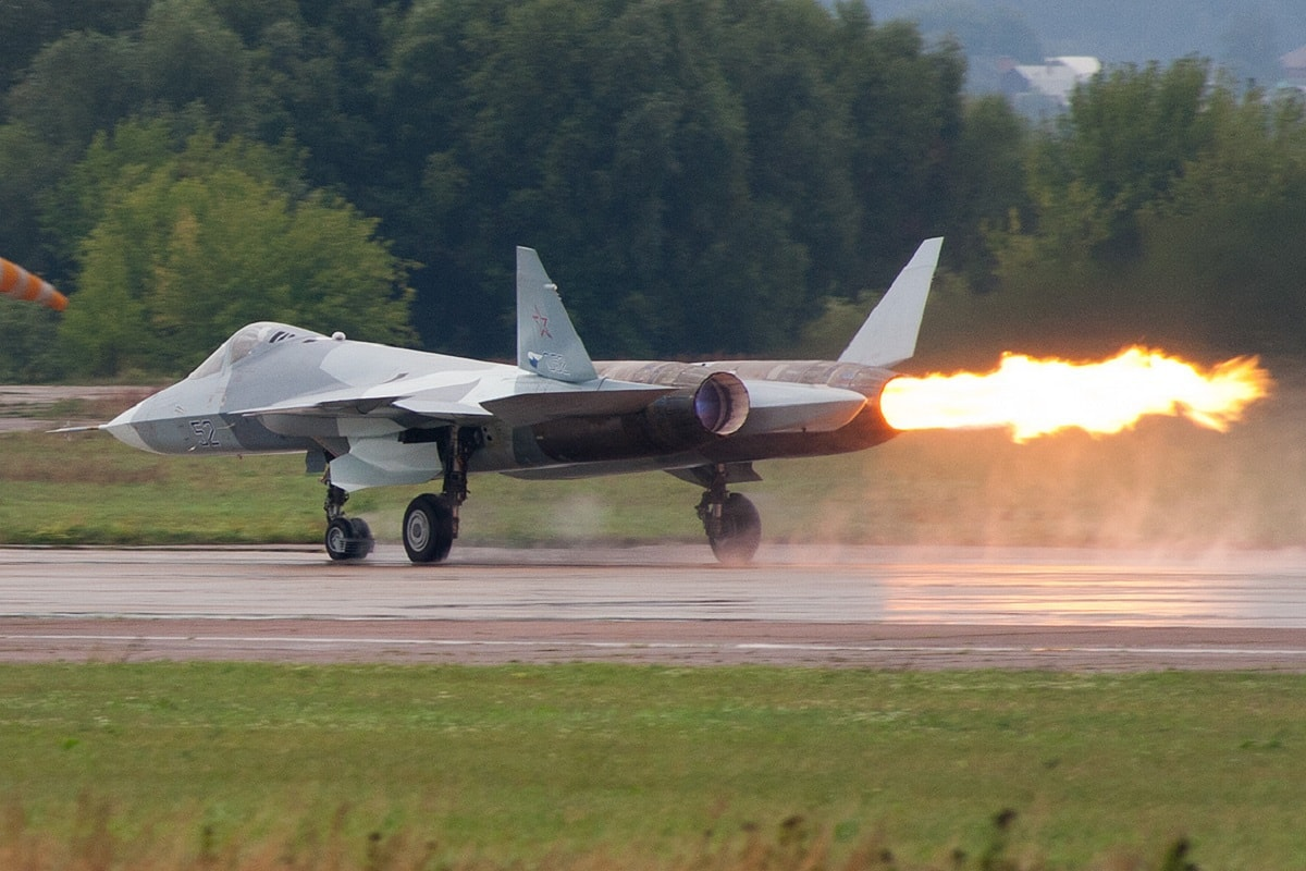Russia New Stealth Fighter