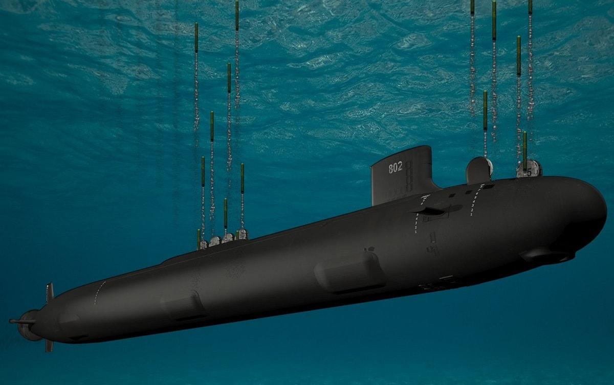 U.S. Navy Attack Submarine