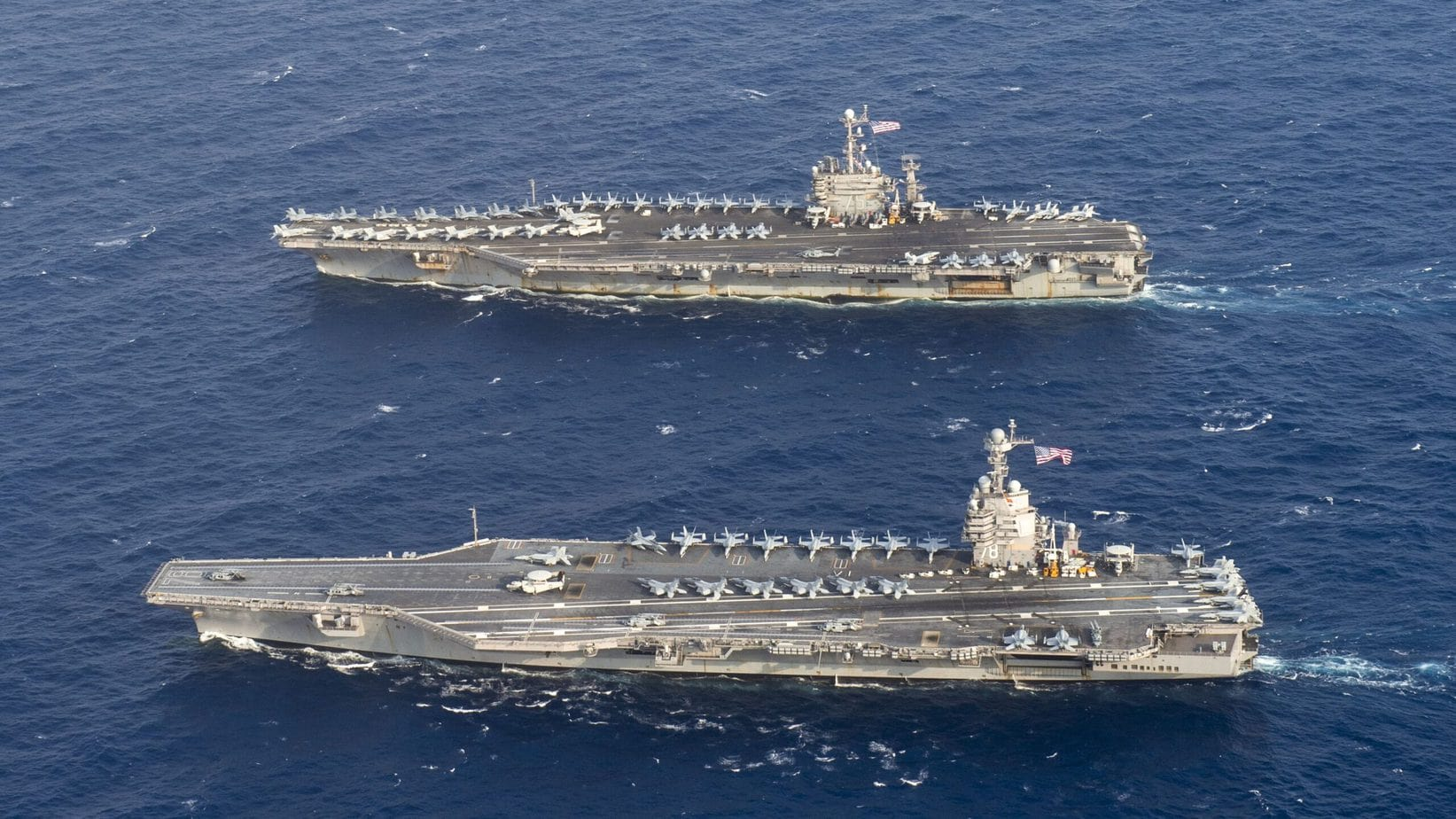 USS Gerald R. Ford Problems