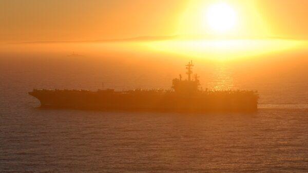 Aircraft Carrier South China Sea