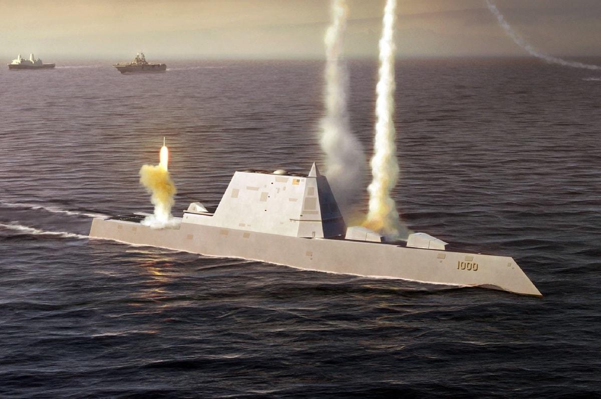 Zumwalt Stealth Destroyers