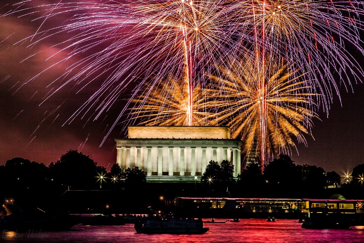 July 4 Fireworks Stream