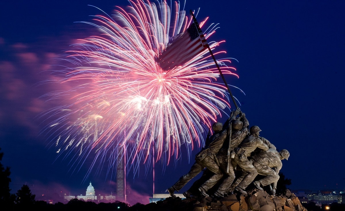 Fourth of July Washington DC Fireworks
