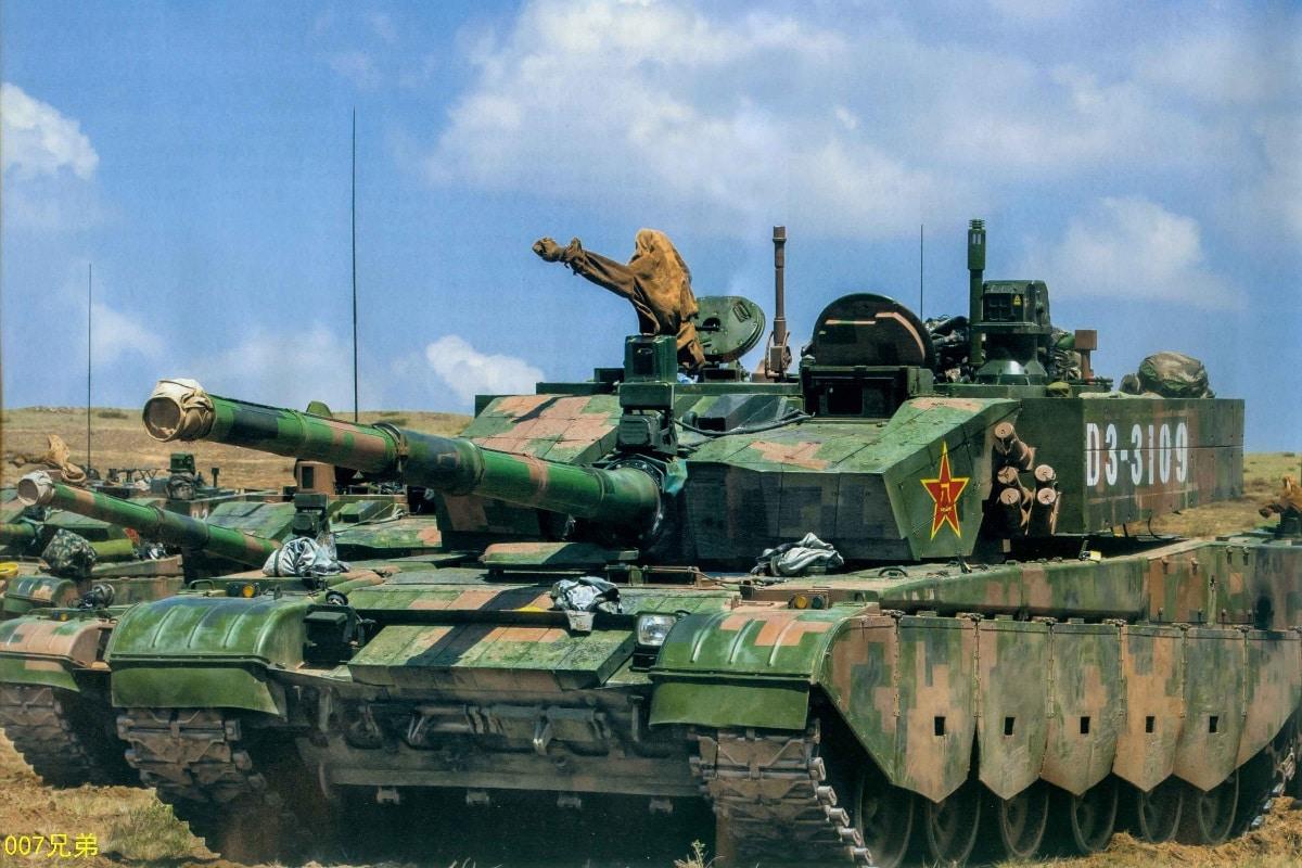 China's Tanks