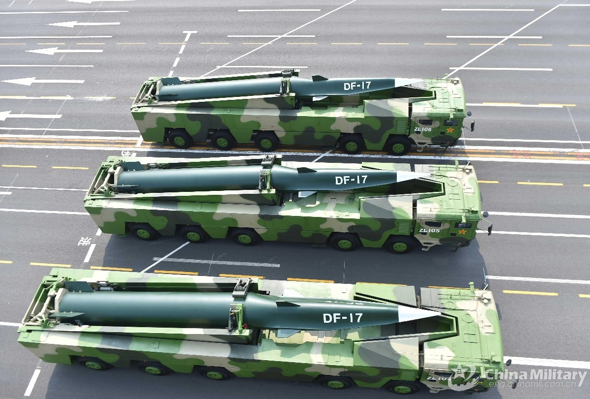 Chinese Nuclear Missiles