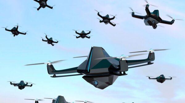 US Army Drone Swarm