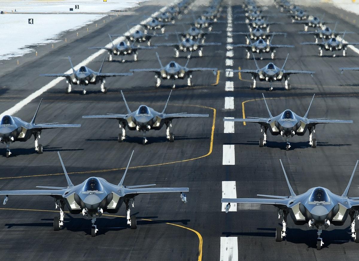 F-35 Elephant Walk