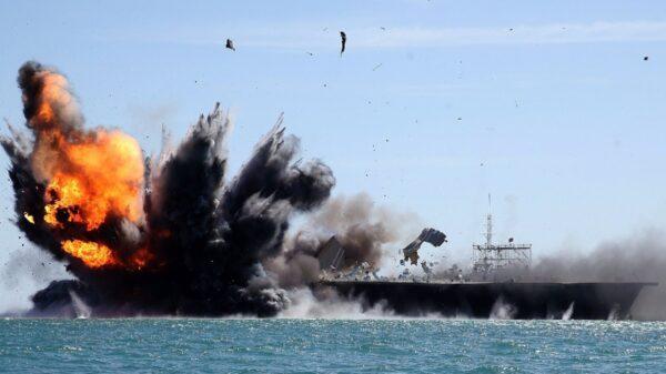 Iran Aircraft Carrier