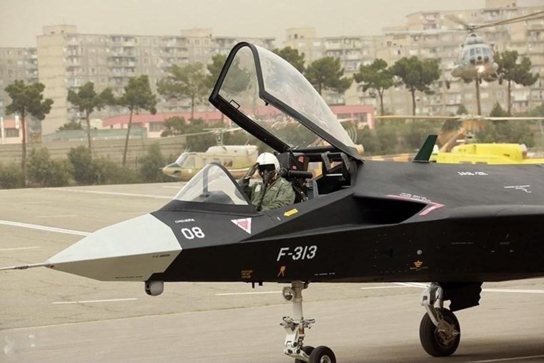 Iran Stealth Fighter