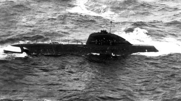 K-8 Submarine