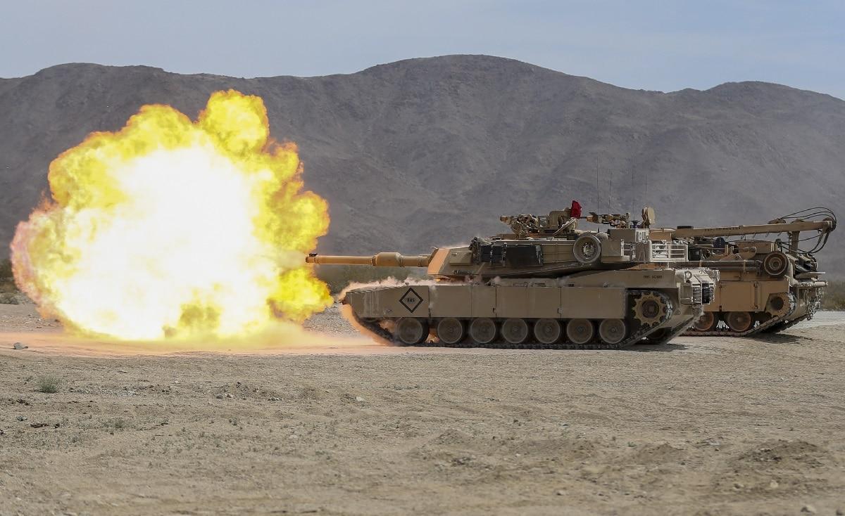 M1 Abrams Tank Poland