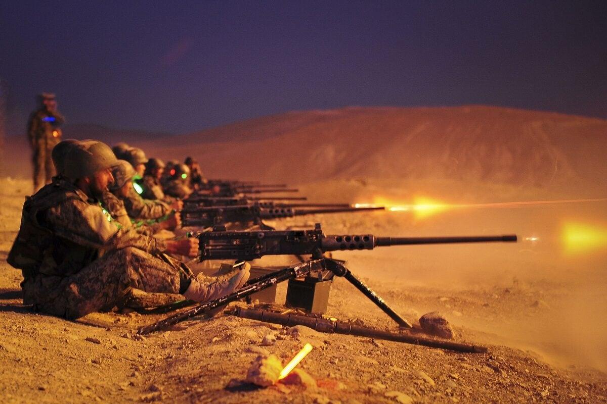 M2 Browning Machine Gun 2