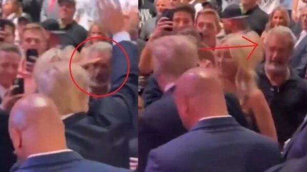 Mel Gibson Salutes Donald Trump