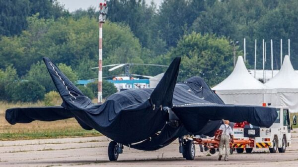 New Russian Stealth Fighter