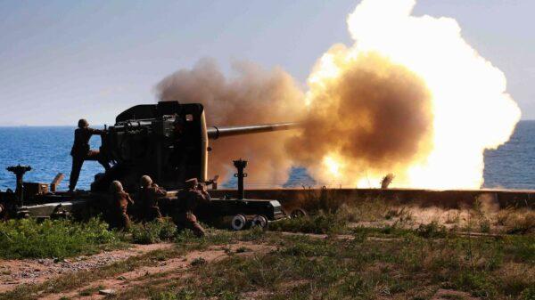 North Korean Artillery