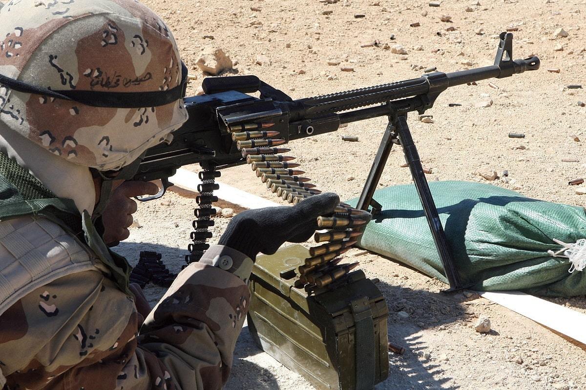 PKM Machine Gun