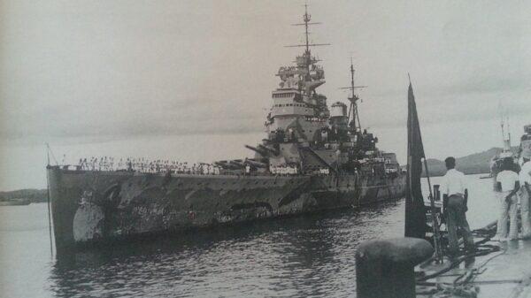 Prince of Wales Battleship Sinking
