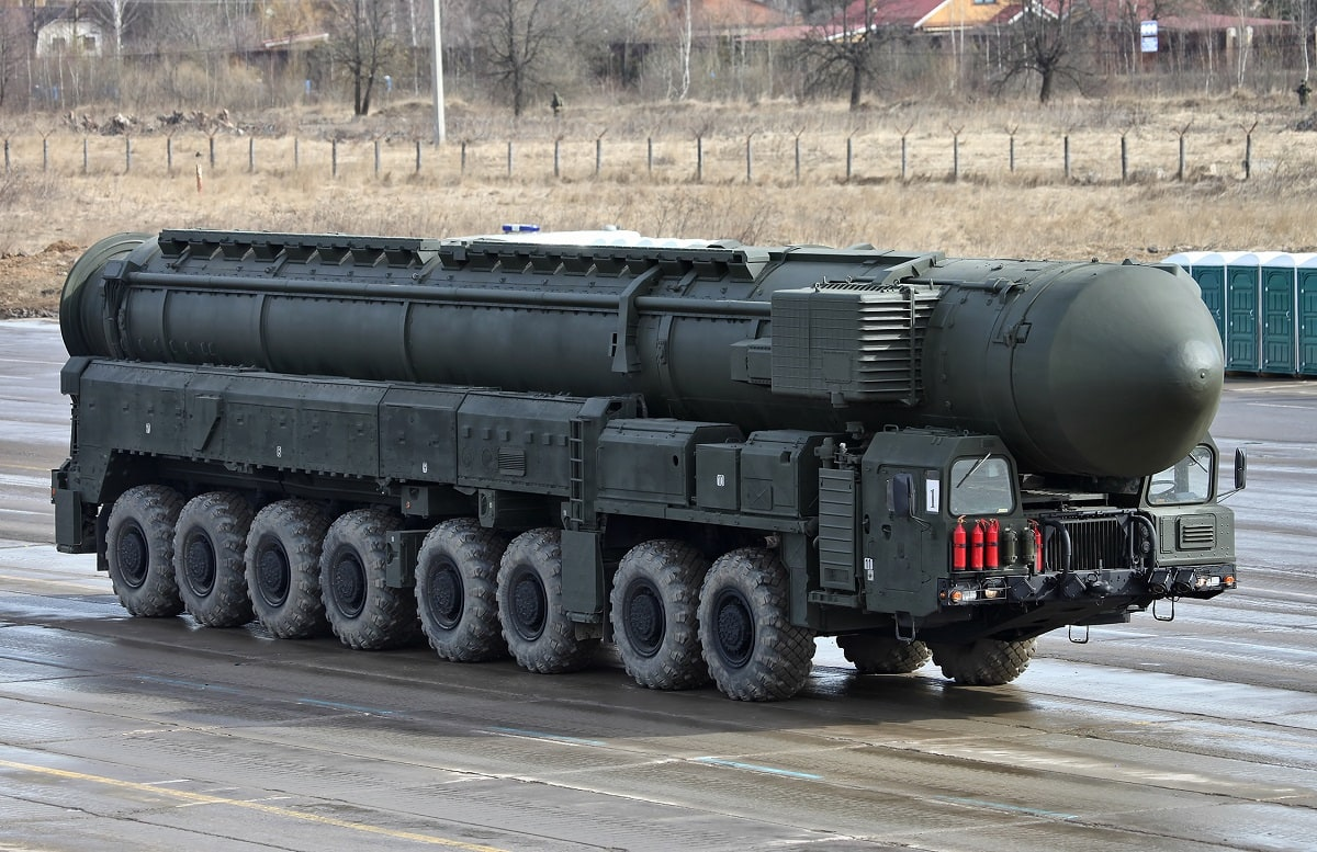 Russia Nuclear Weapons Train