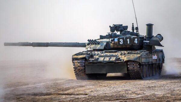 Russia T-80 Tank