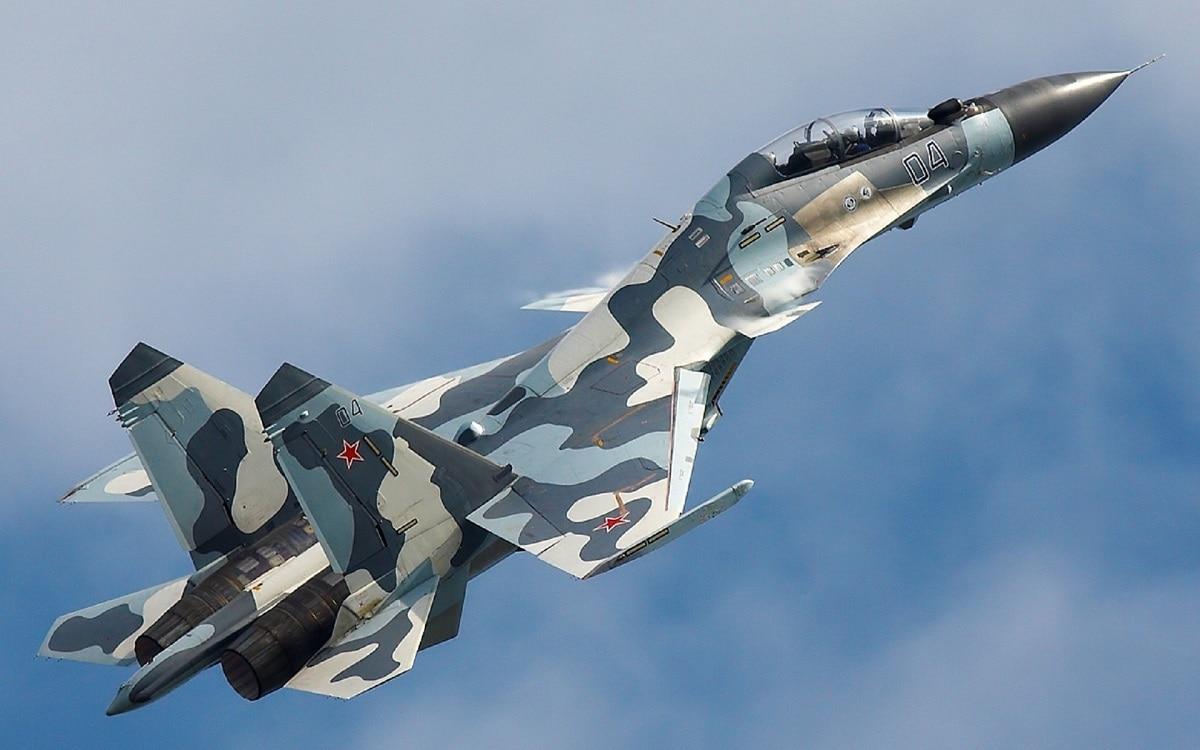 Russian Su-30 Fighter