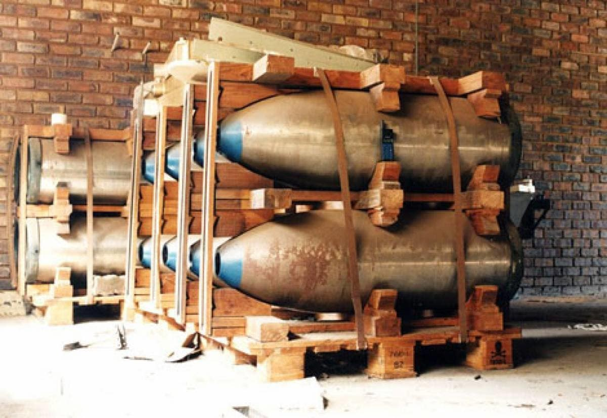 South Africa Nuclear Weapons