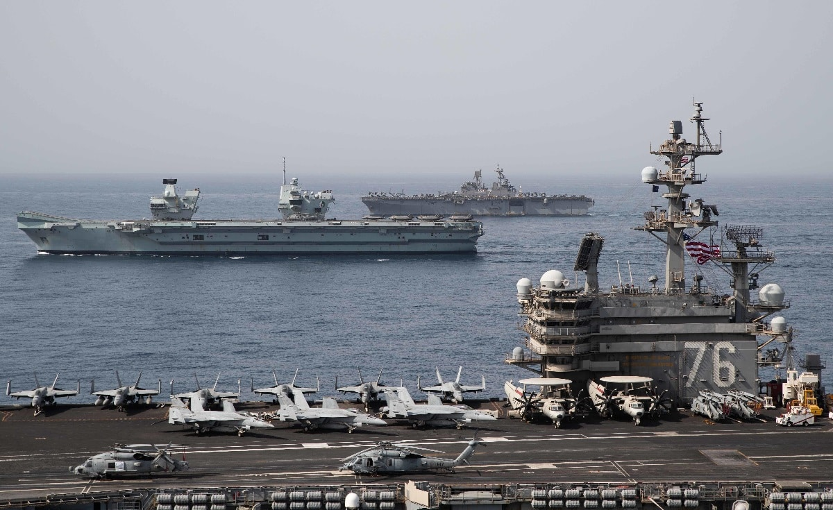 Three Aircraft Carriers