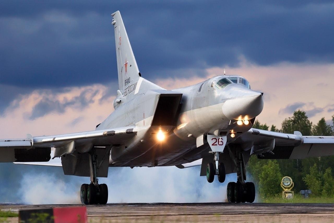 Russian Bombers Black Sea
