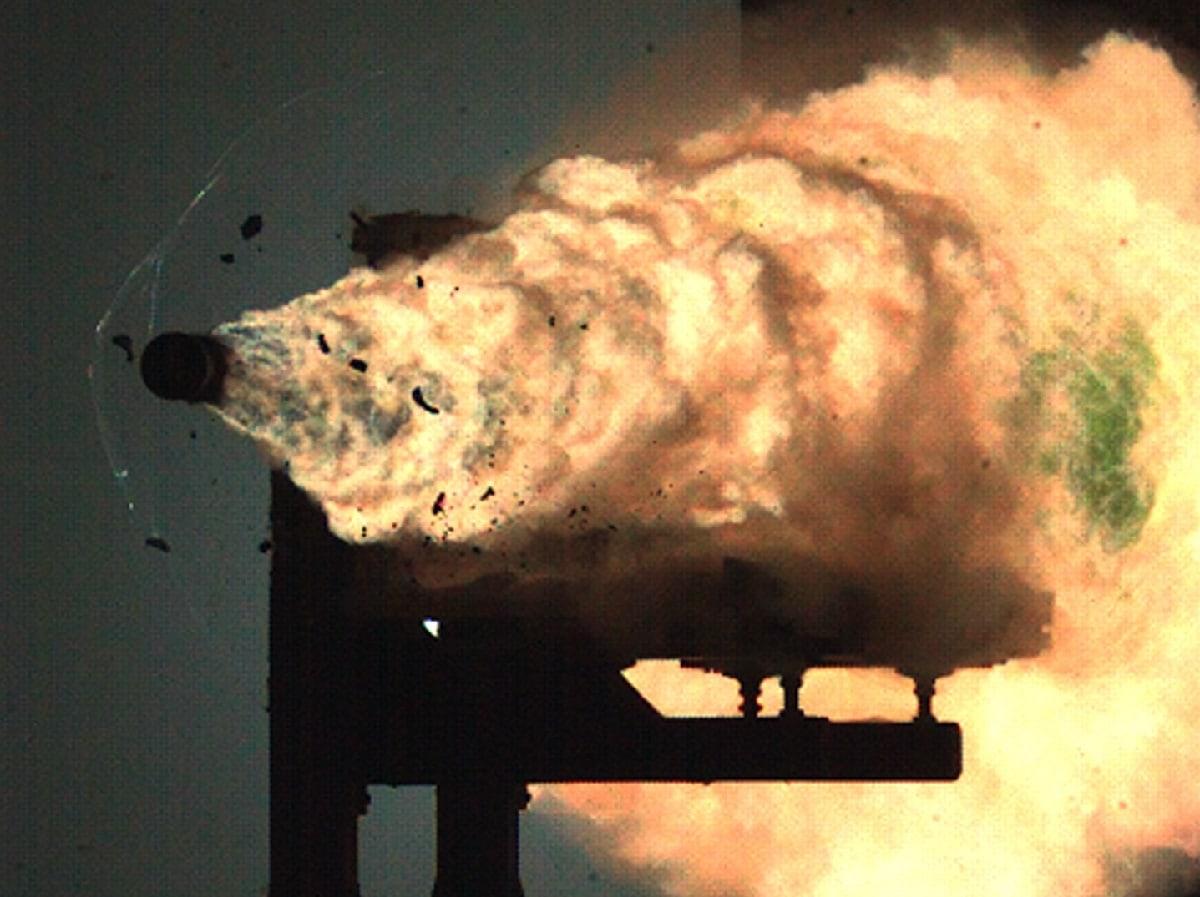 U.S. Navy Rail Gun