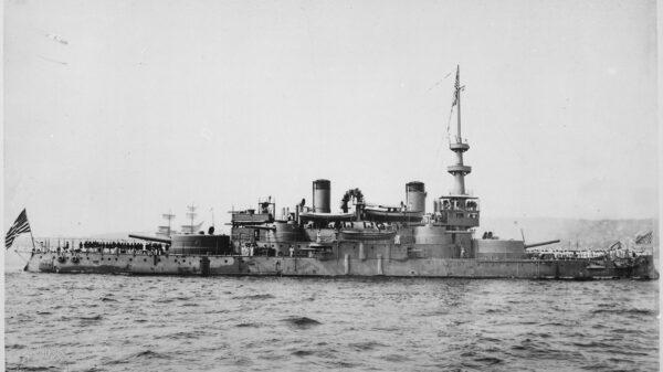 First U.S. Navy Battleship