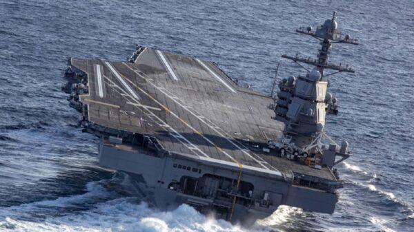 USS Gerald R. Ford Shock Trials