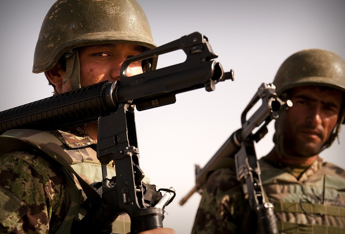 Afghan National Army Collapse