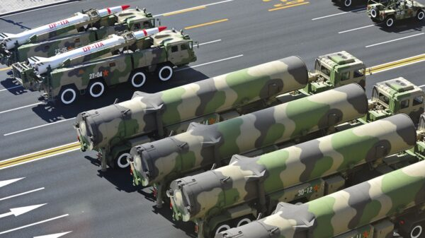 China New ICBMs