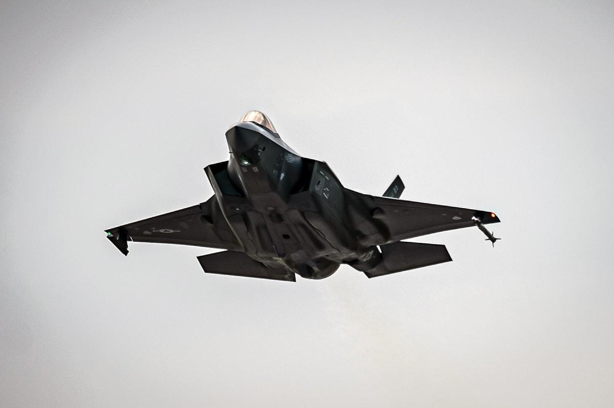 F-35 Snow Melt
