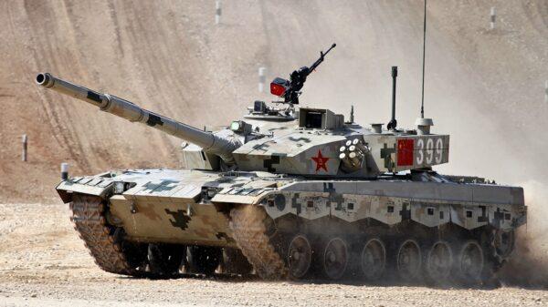 Type 96 Main Battle Tank